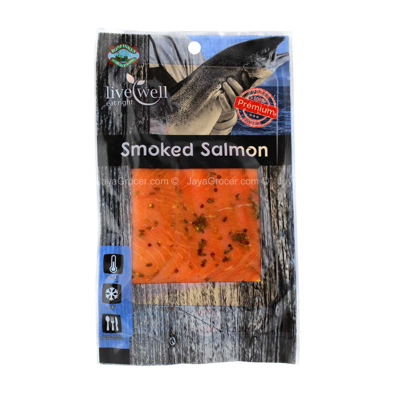 Live Smoked Salmon Cumin Marinated 100g