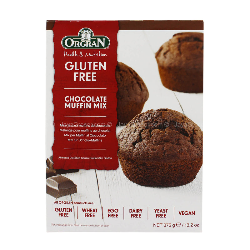 Orgran Health & Nutrition Gluten Free Chocolate Muffin Mix 375g