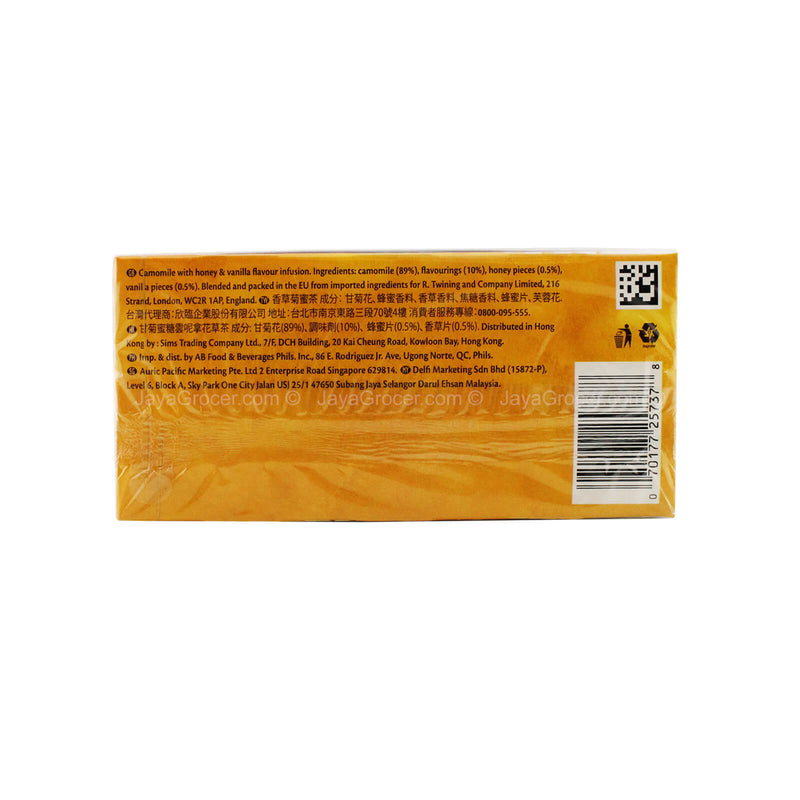 Twinings of London Camomile, Honey and Vanilla Flavoured Infusion Tea 50g