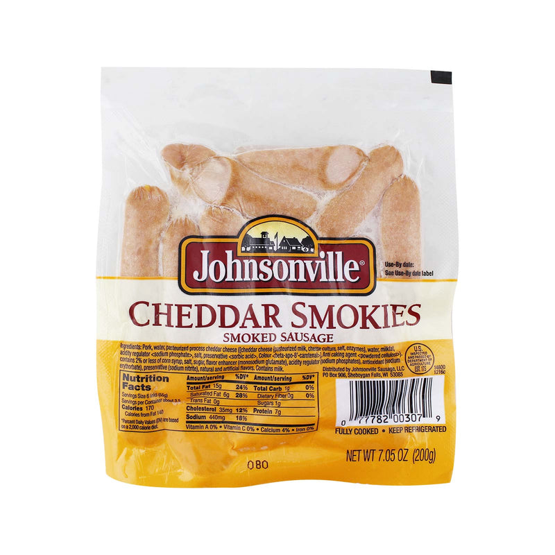 Johnsonville Cheddar Smokie Smoked Sausage 200g