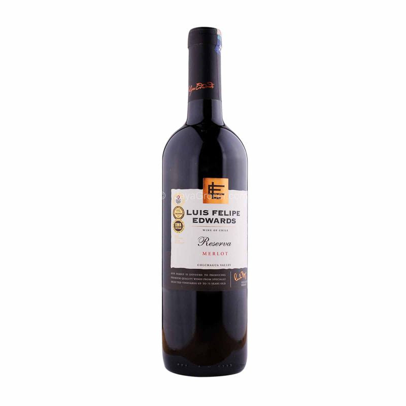Luis Felipe Edwards Reserva Merlot Wine 750ml
