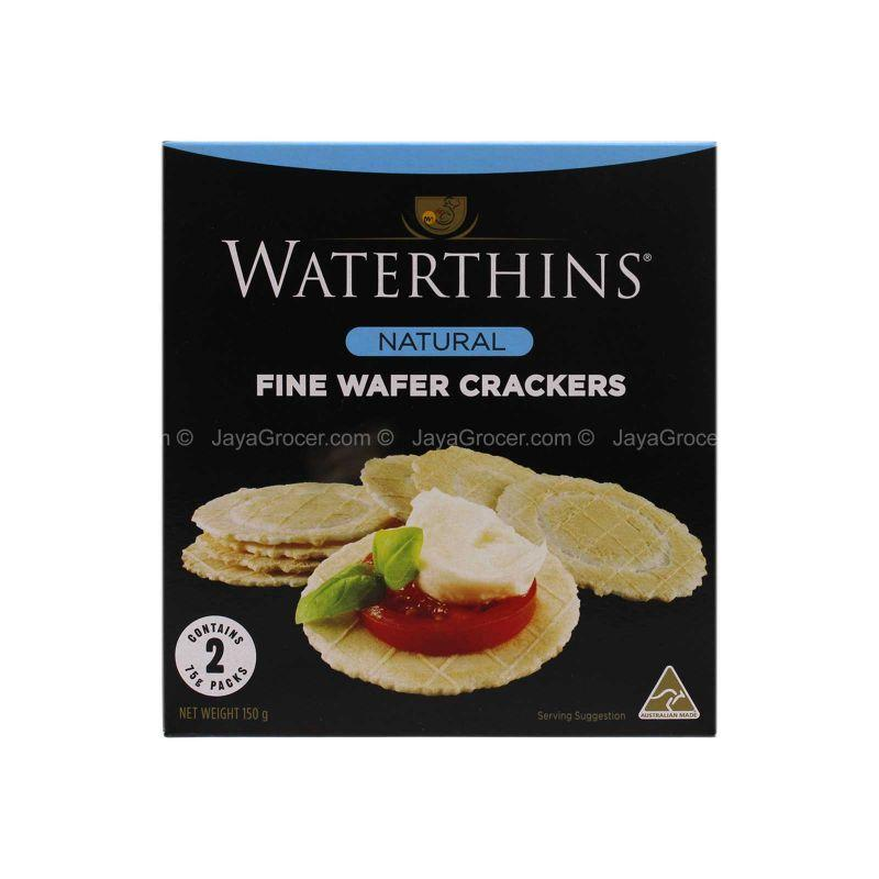 Waterthins Natural Fine Wafer Cracker 150g