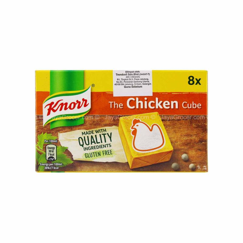 Knorr The Chicken Stock Cubes 80g