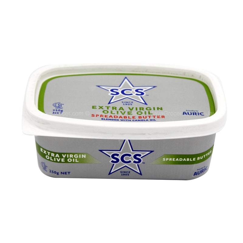 SCS Spreadable Butter Blended with Canola and Olive Oil 250g