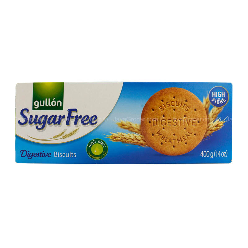 Gullon Sugar Free Digestive Wholemeal Biscuits 400g