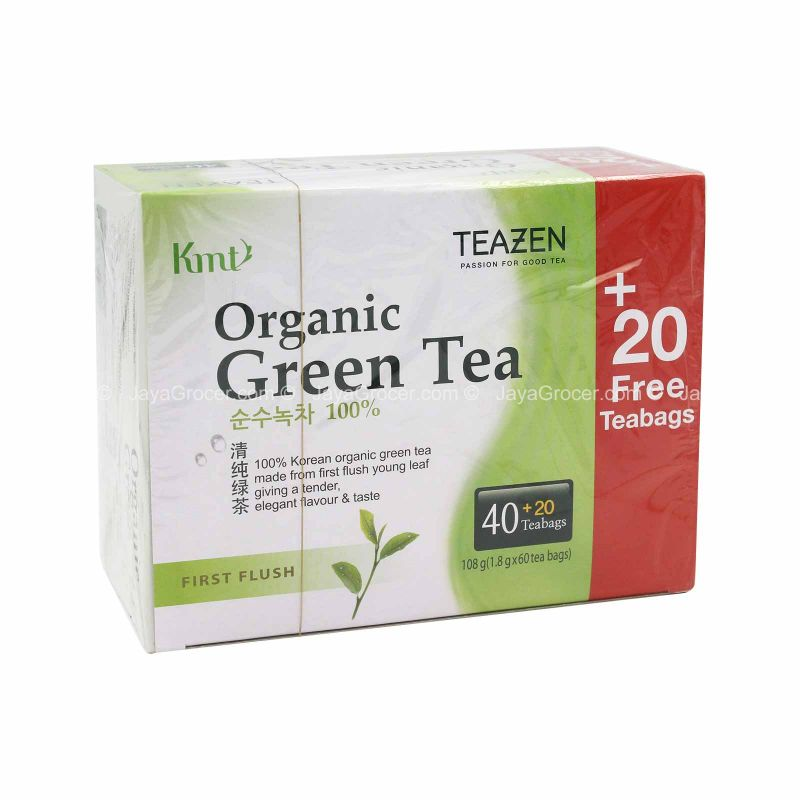 Tea Zen Organic First Flush Green Tea 120g