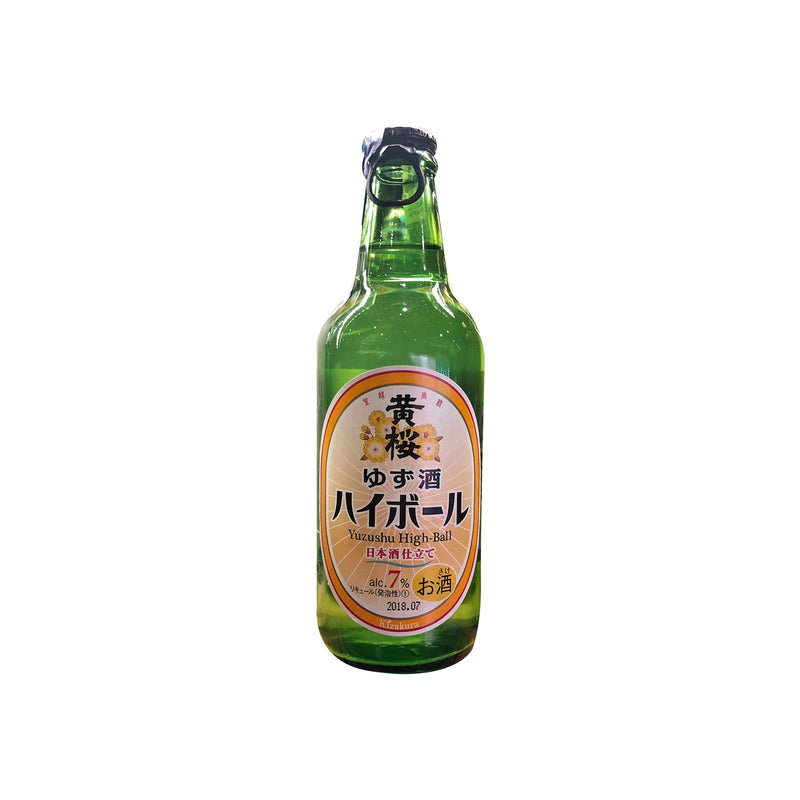 Kizakura Yuzu High Ball 330ml