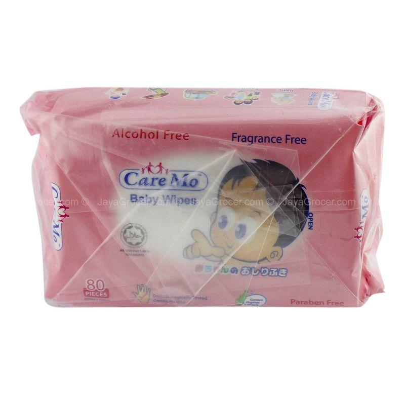 Care Mo Baby Wipes 80pieces x 4packs