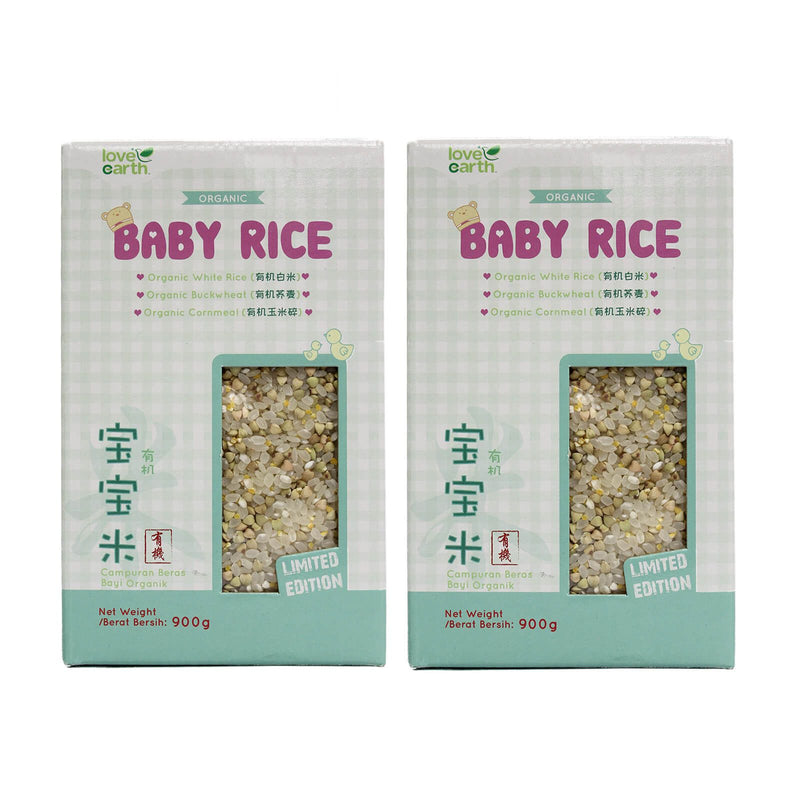 Love Earth Organic Baby Rice (Buckwheat) 900g
