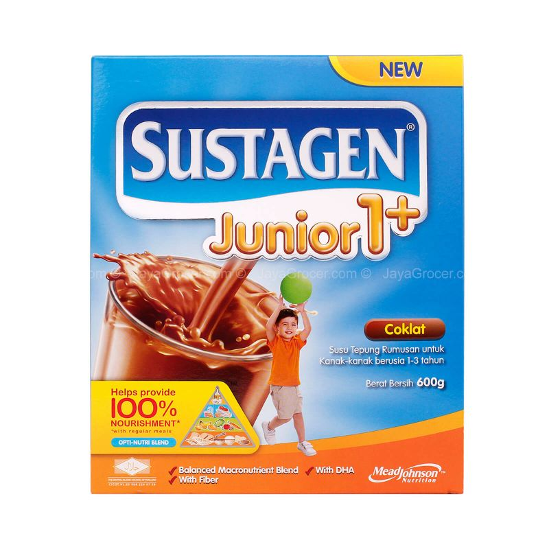 Sustagen Chocolate Junior 1+ Milk Powder 600g