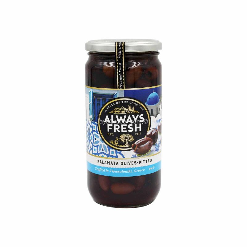 Always Fresh Pitted Kalamata Olives 670g