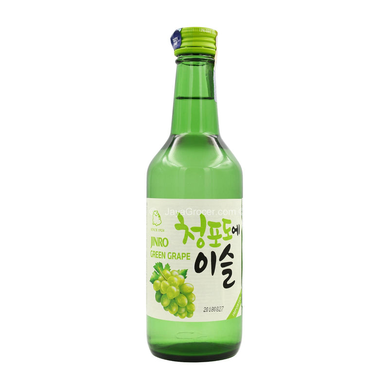 JINRO GREEN GRAPE SOJU 360ML 360ml