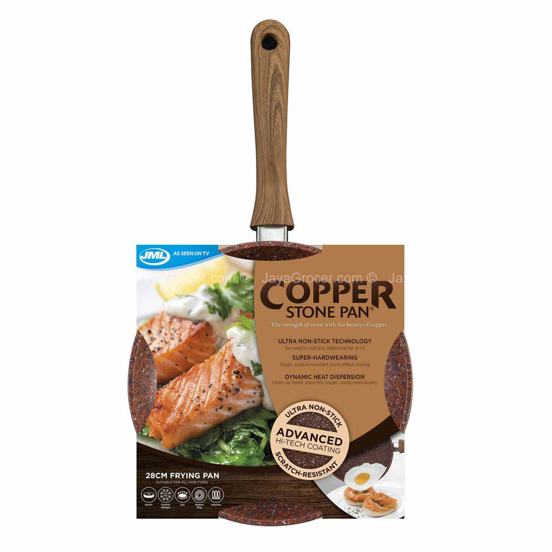 JML Regis Copper Stone Pan (28cm) 1unit