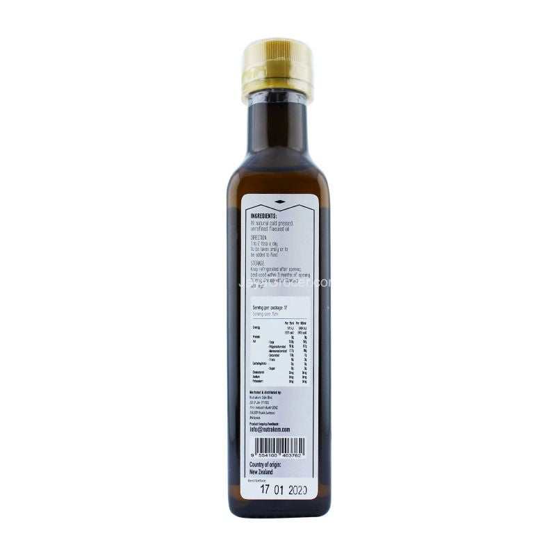 Sunno Premium Flaxseed Oil 250ml