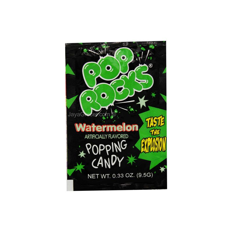 Pop Rocks Watermelon Popping Candy 9.5g