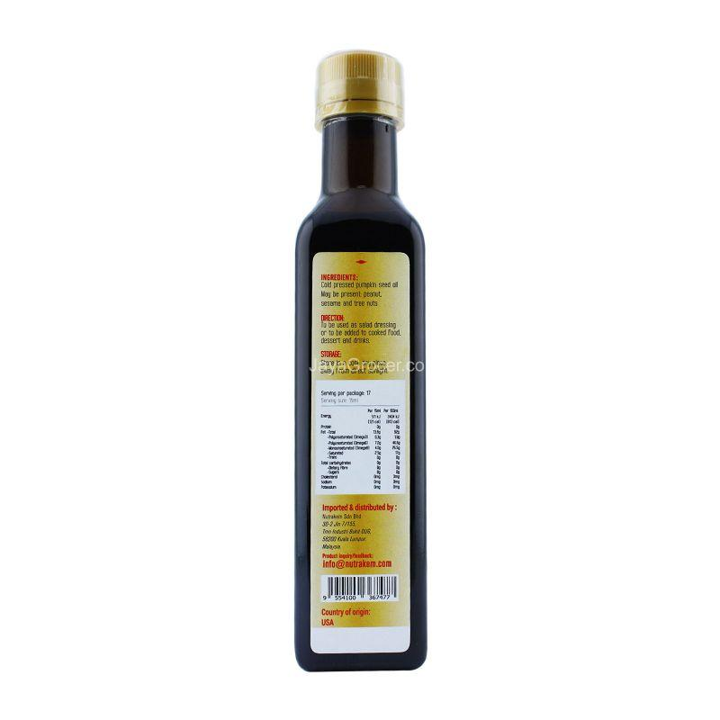 Sunno Premium Pumpkin Seed Oil Cold Pressed 250ml