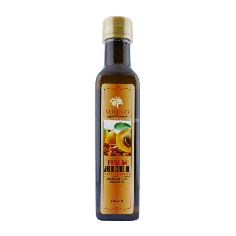 Sunno Premium Apricot Kernel Oil Cold Pressed 250ml