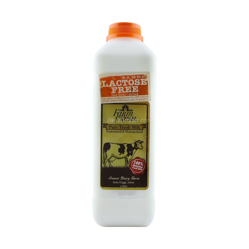 Farm Fresh Lactose Free Pure Fresh Milk 1L