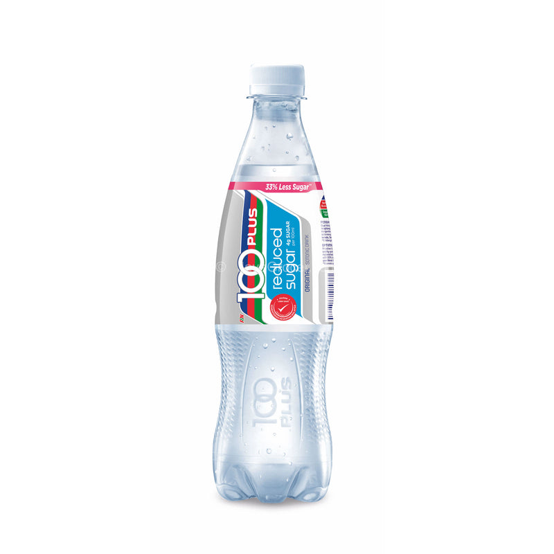 100 Plus Reduced Sugar Original Isotonic Drink 500ml