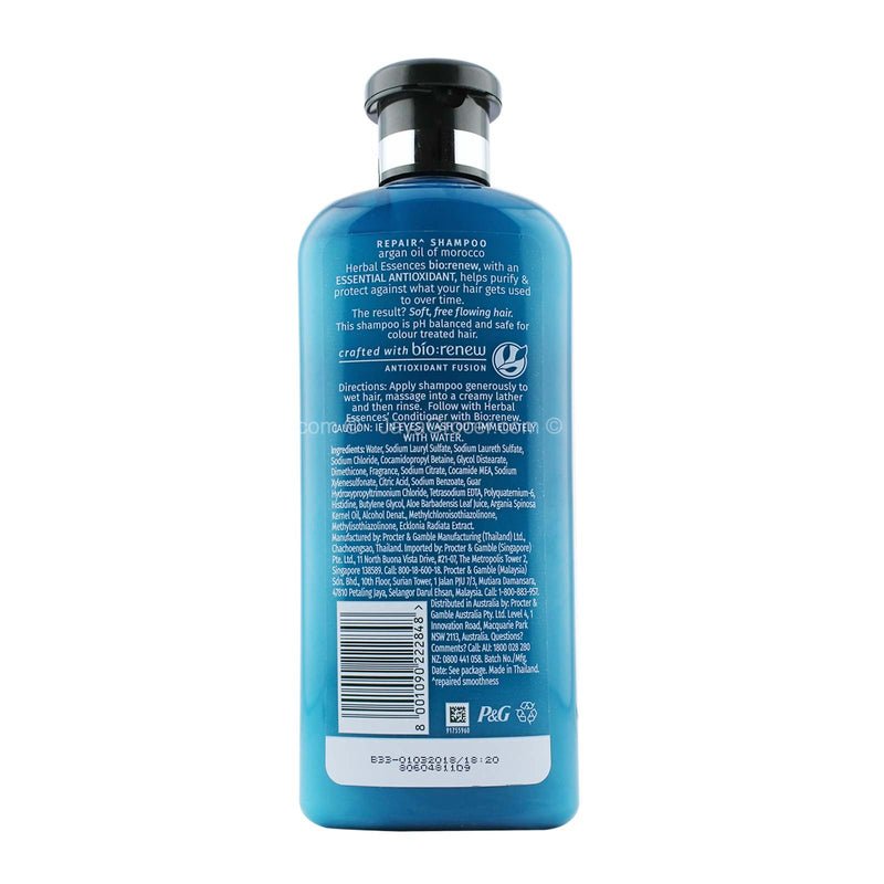 Herbal Essences Argan Oil of Morocco Hair Shampoo 400ml
