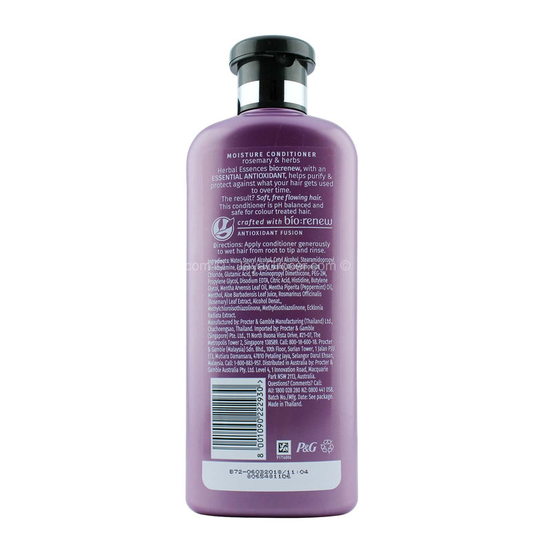Herbal Essences Rosemary & Herbs Hair Conditioner 400ml