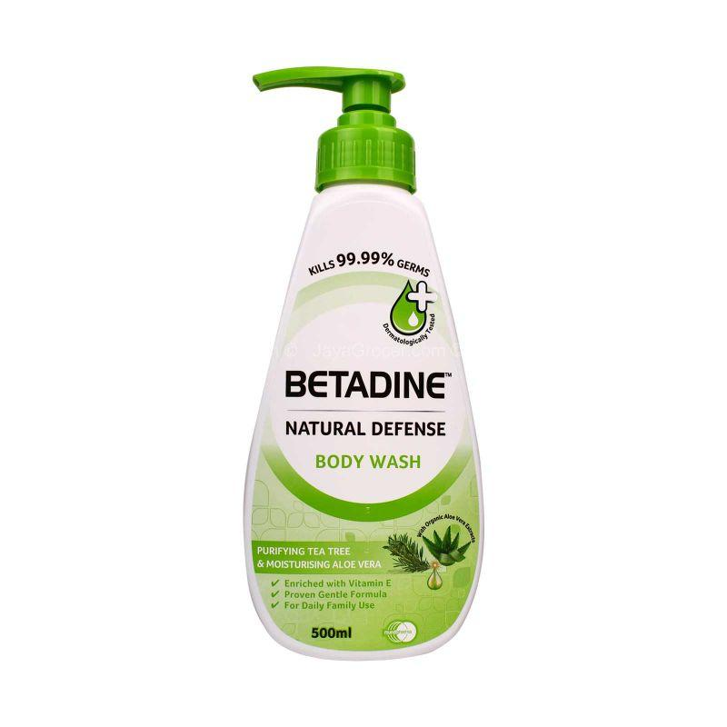 Betadine Purifying Tea Tree & Moisturising Aloe Vera Body Wash 500ml