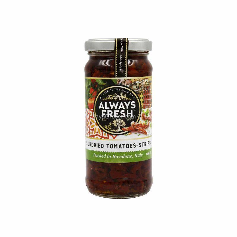 Always Fresh Strips Sundried Tomatoes 220g