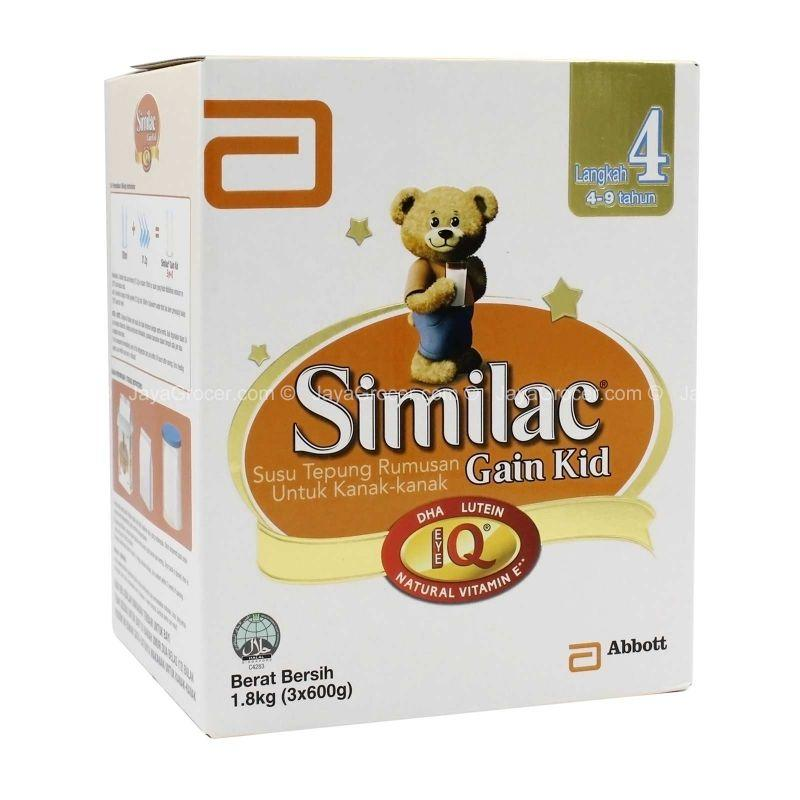 Similac Gain Kid Eye-Q Step 4 Growing Up Milk Powder 1.8kg