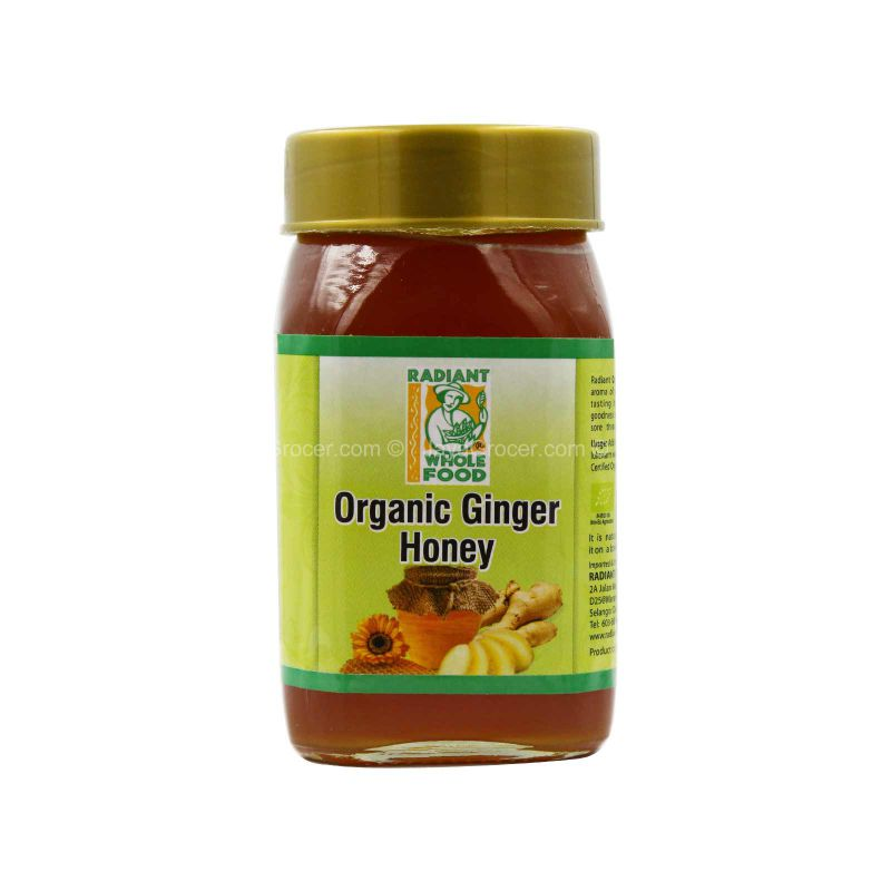 Radiant Organic Ginger Honey 500g