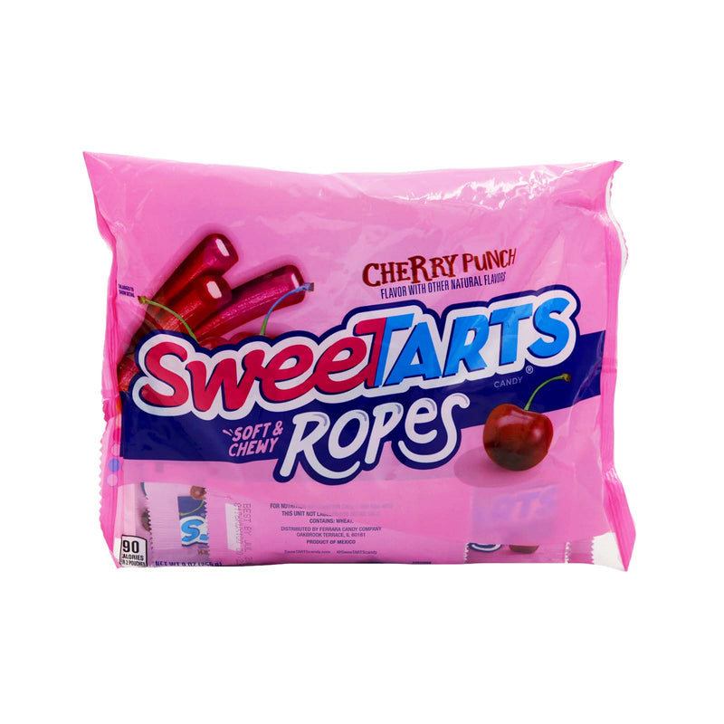 Nestle SweeTarts Cherry Punch Ropes Candy 255g