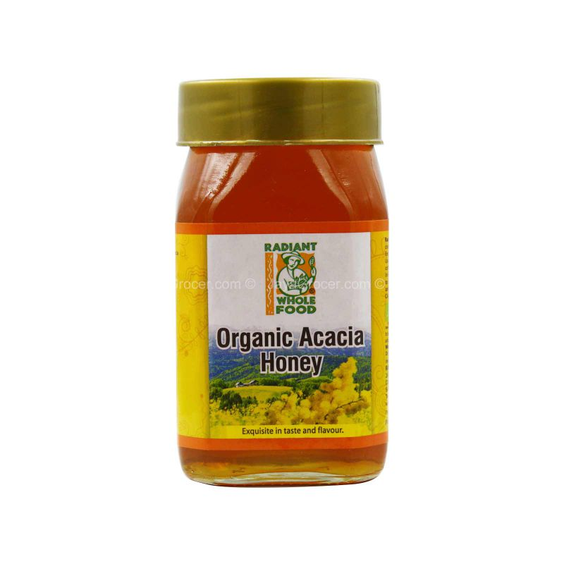 Radiant Whole Food Acacia Honey 500g