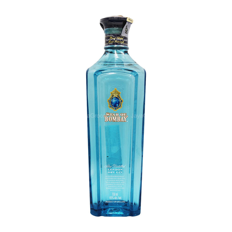 Star of Bombay Slow Distilled London Dry Gin 750ml