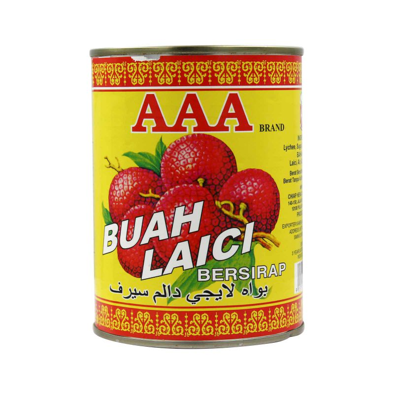 AAA Brand Lychees in Syrup 565g