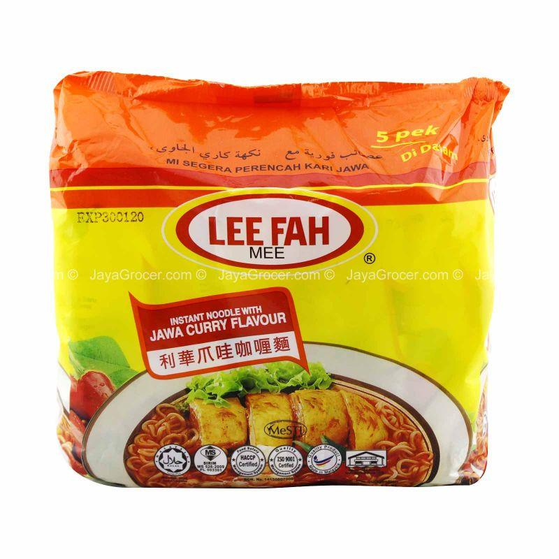 Lee Fah Jawa Curry Flavour Instant Noodle 70g x 5