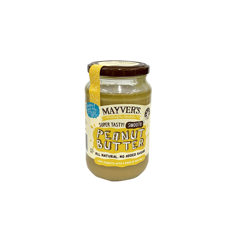 Mayver's Smooth Peanut Butter 375g