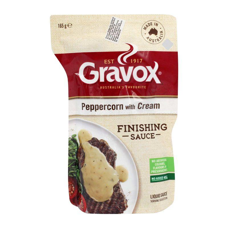 Gravox Peppercorn with Cream Finishing Sauce 165g