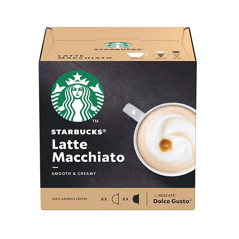 Satrbucks Latte Macchiato Coffee Capsules 129g