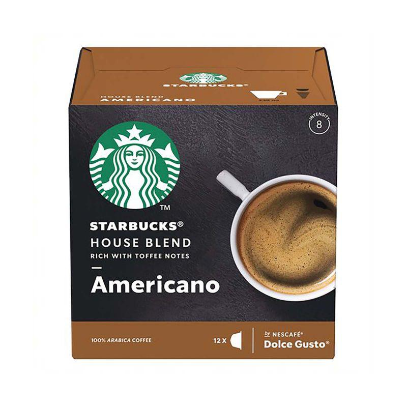 Starbuck House Blend Americano Coffee Capsules 102g