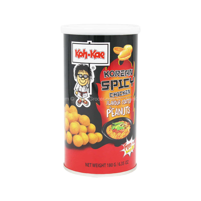 Koh-Kae Korean Spicy Chicken Flavour Coated Peanuts 180g