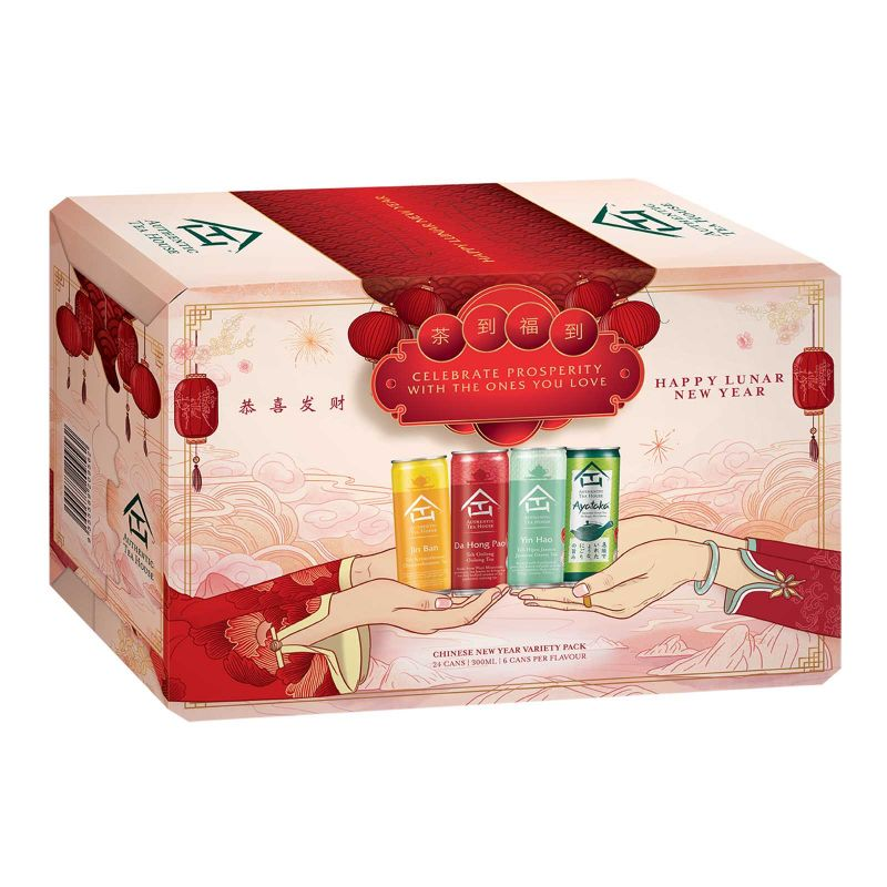 Authentic Tea House Variety Pack 300ml x 24