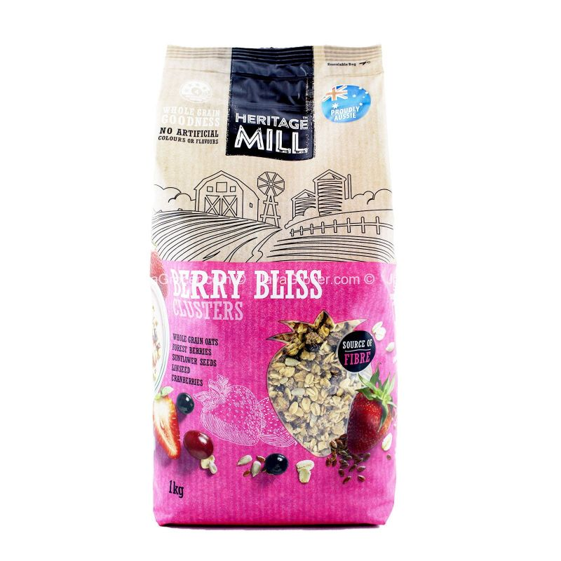 Heritage Mill Berry Bliss Clusters 1kg