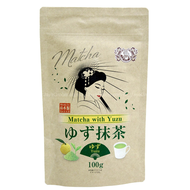 Mamami Matcha with Yuzu Powder 100g