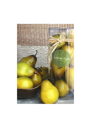 Decorative Pears, Set Of 12