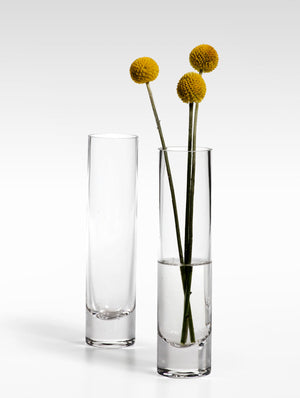 Glass Bud Vase, Set Of 4