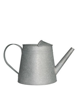 Grey Zinc Watering Can
