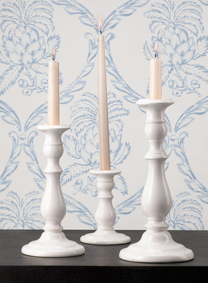 White Porcelain Candlestick Sets