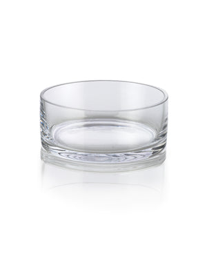 Low Glass Bowls