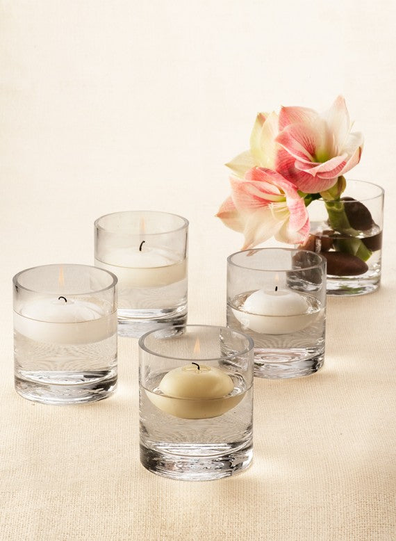 Ivory Floating Candle Sets