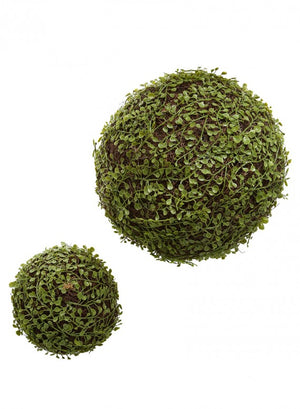 Wicker & Grass Orbs