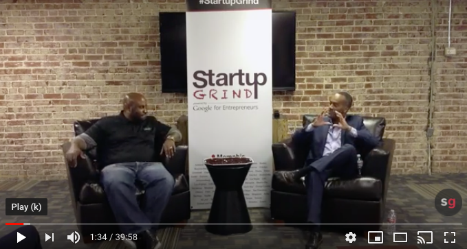 (Video) Chef Phillip Ashley Rix Interview With Startup Grind